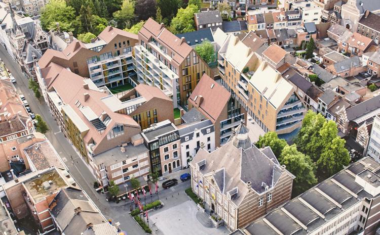Kolmont bouwt Ursulinenhof in Hasselt
